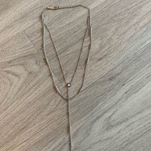 Kendra Scott Y Necklace with Opal